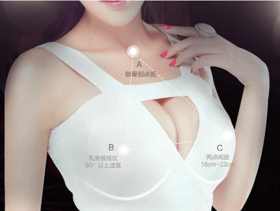 完美乳房的数据参考