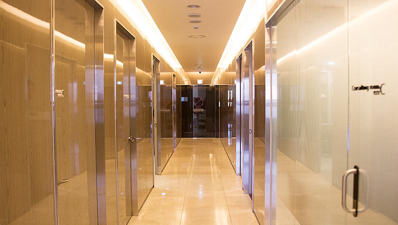 韩国BIO整形医院走廊