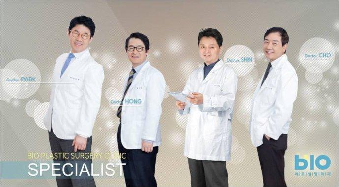 韩国bio整形医院四位代表院长