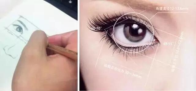 魅力眼睛标准