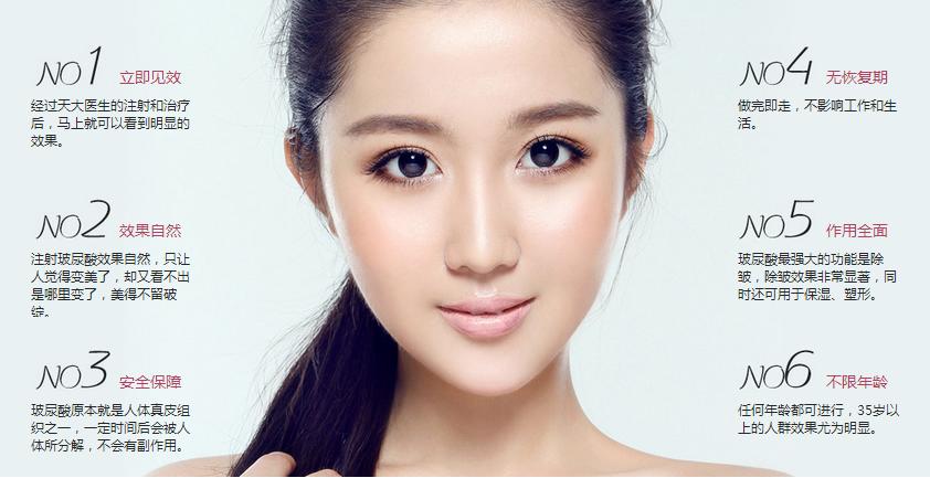 玻尿酸六大优势 精心雕琢你的美