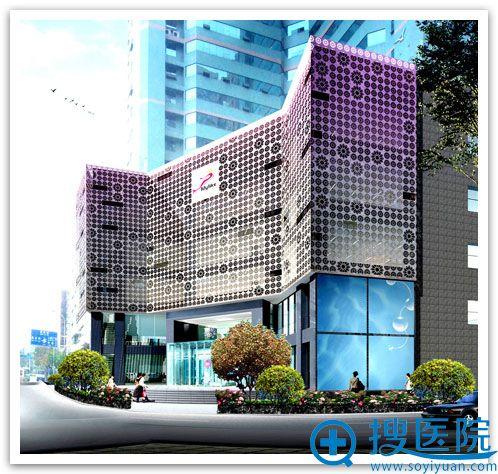 重庆华美现在医院外景图