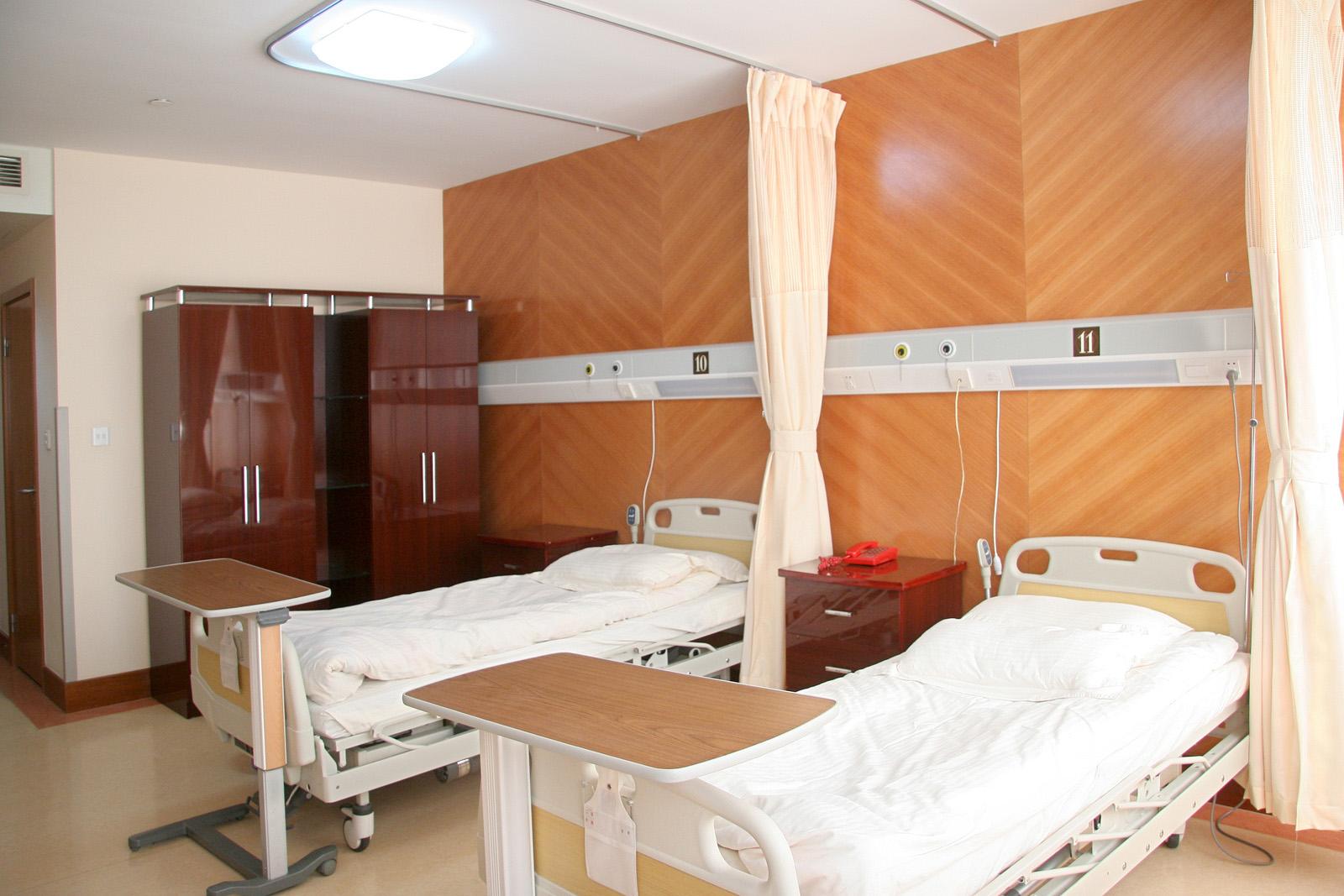 上海九院病房环境