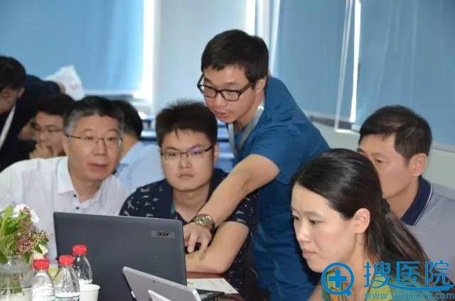 上海届正颌外科精品学习班3D设计讨论会