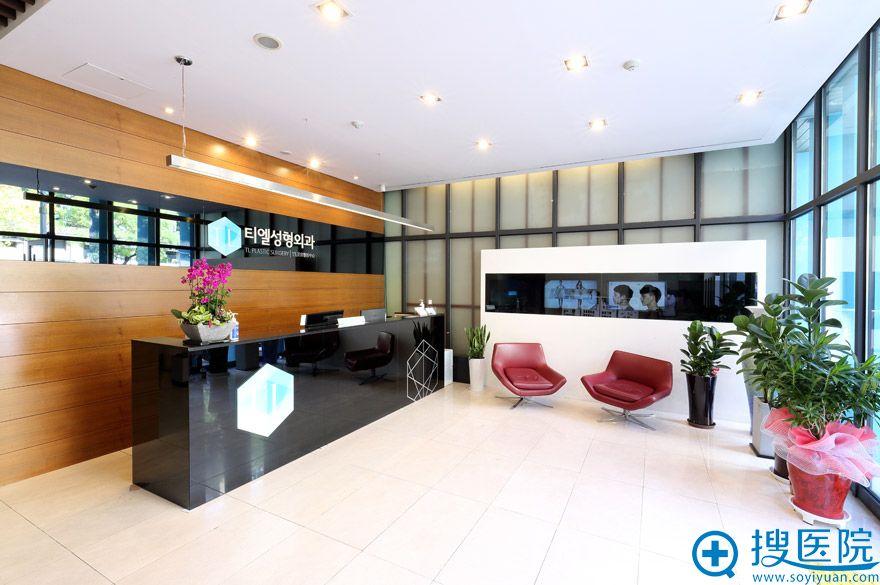 韩国TL整形医院一楼(前台)