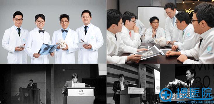 韩国TL整形医院吸取尖端手术技术,定期参加学术活动