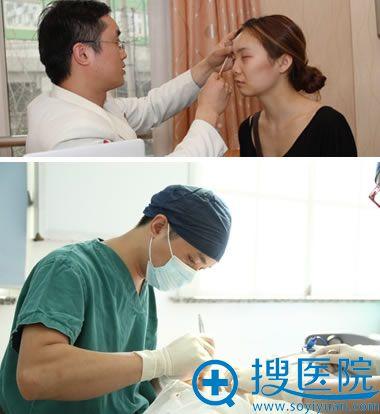 熊俊文做双眼皮开眼角手术