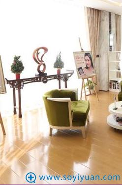 上海华美大厅休息区