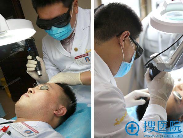 北京华韩整形赛诺秀治疗过程