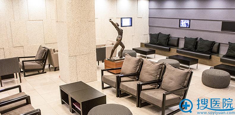 韩国BIO整形医院候客室