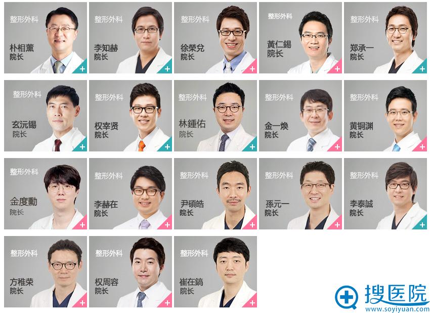 韩国ID整形医院整形外科专家团