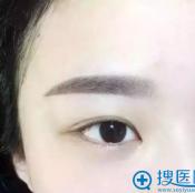 韩式半永久纹眉 眉头做得淡才显真功夫 上色只是手段漂亮是目的