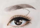 【案例】重庆铜雀台整形医院韩式半永久纹眉+美瞳线价格1699元