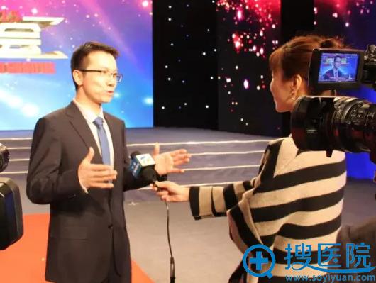 田永成医美集团(宁夏)中心总经理季毅先生接受媒体采访
