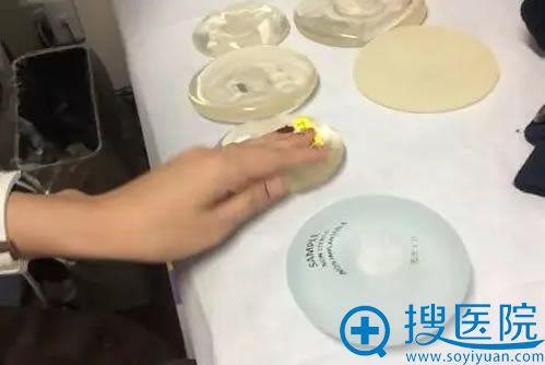 日本常用隆胸假体材料