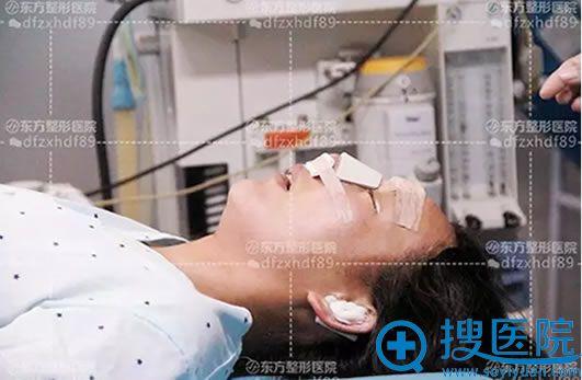 郑东学教授鼻整形修复手术过程