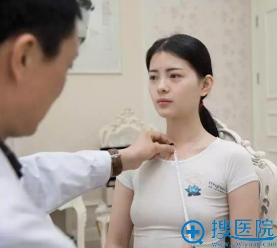 在重庆时光冯辉利院长面诊中