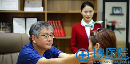 上海首尔丽格院长办公室环境