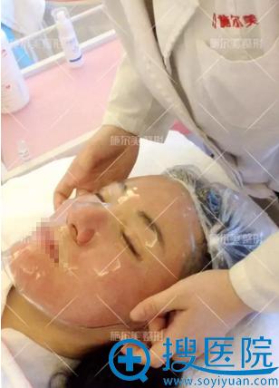常州施尔美微针美白嫩肤治疗后敷舒缓修复面膜
