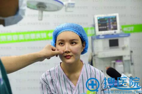 杭州时光面部线雕手术过程图