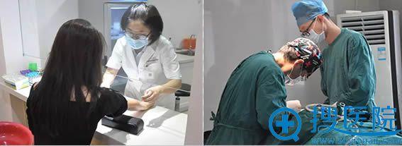 鼻综合术前检查和手术过程