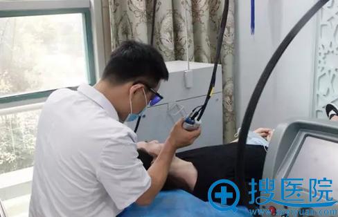 重庆当代祛痘治疗第八步:染料激光治疗