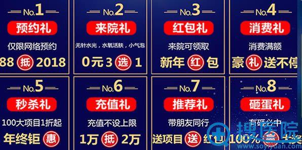广大医院年终钜惠8大优惠让你来享