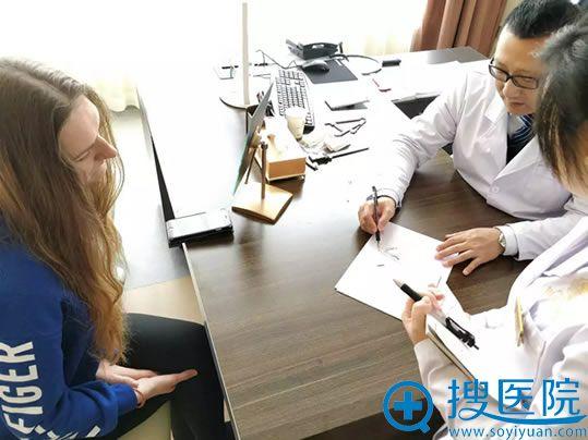 王文俊医生为Asya设计鼻综合方案