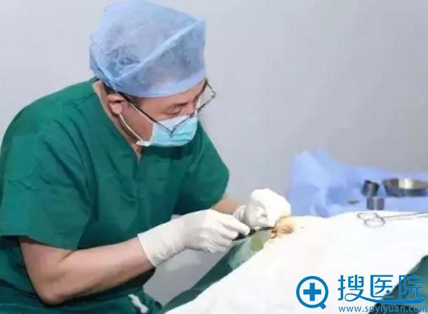 北京长虹医院线雕手术过程