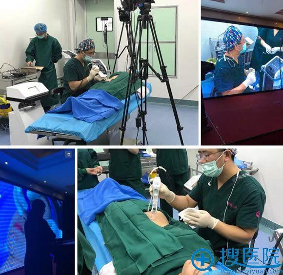 北京美天张良振微针治疗痤疮手术直播