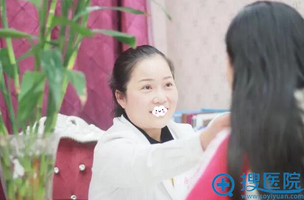 郑州东方整形美容医院双眼皮+祛眼袋真人案例