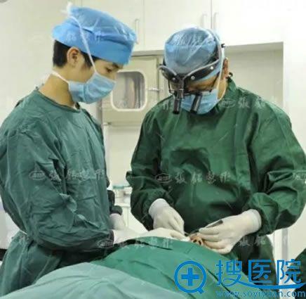 厦门张铭整形鼻综合手术过程