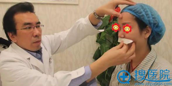 主刀医生兰文贤院长鼻综合手术面诊过程