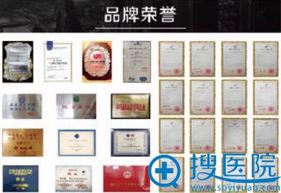 大连董萍医疗美容整形医院所获部位荣誉