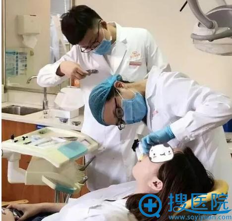 杭州华山连天美牙齿矫正过程图