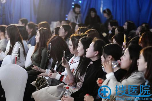上海首尔丽格颌面整形案例模特招募现场