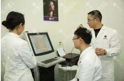 重庆华美智能毛发精测系统检测求美者毛发情况