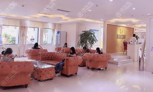 成都美极医疗美容大厅环境