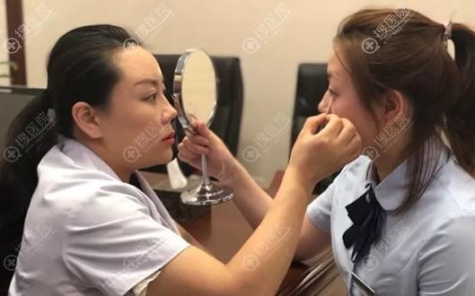 咨询北京柏丽于波双眼皮过程