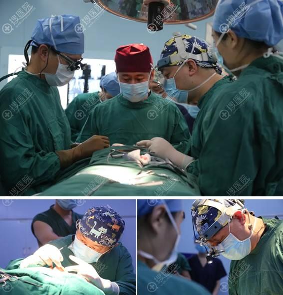 北京美莱达拉斯鼻整形培训班手术直播