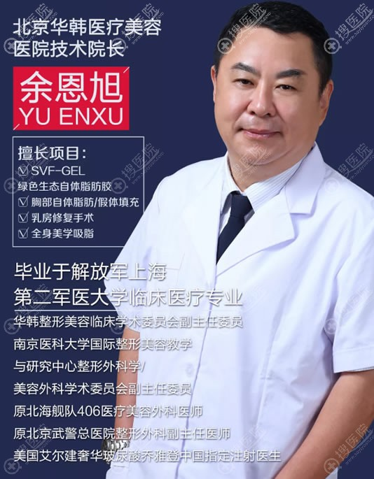 北京华韩隆胸医生余恩旭院长