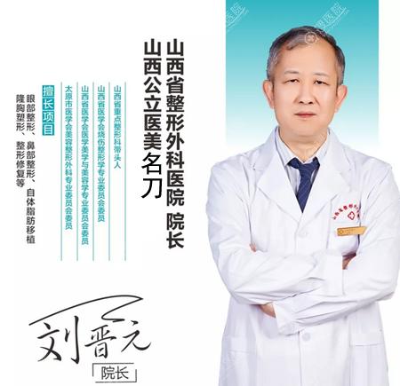 山西省整形外科医院院长刘晋元