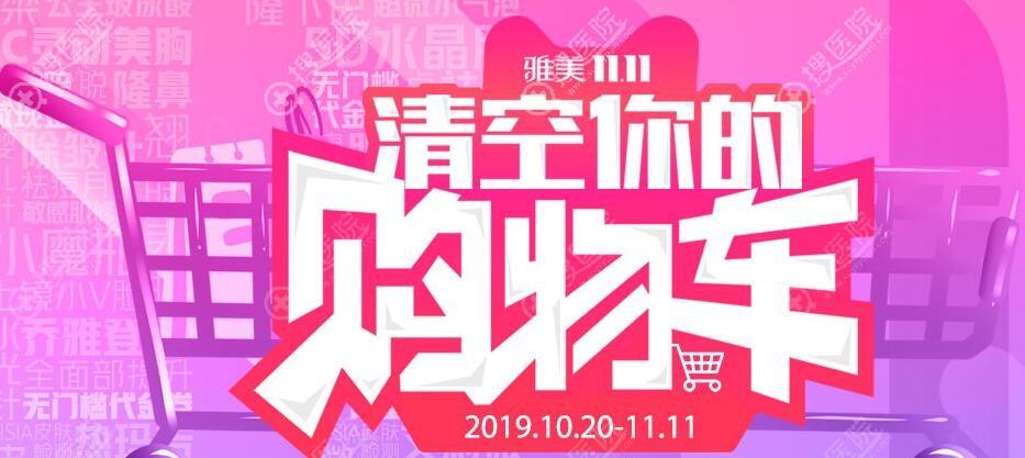 衡阳雅美11月11优惠活动