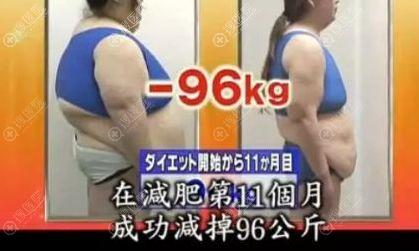 减肥前后效果对比图