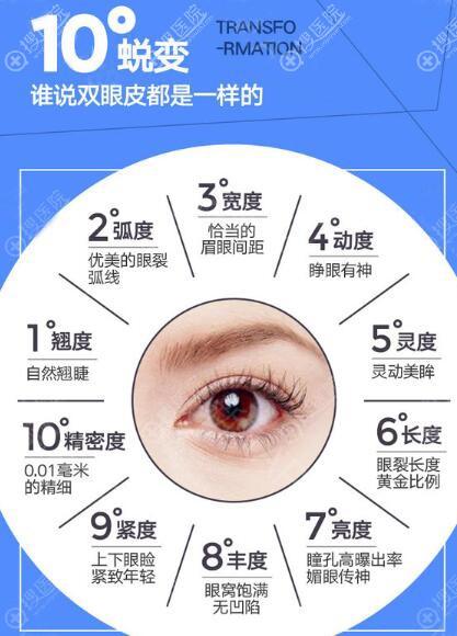 双眼皮优势