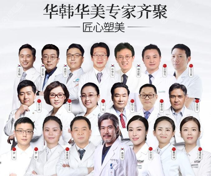 长沙华韩华美强大的医生团队