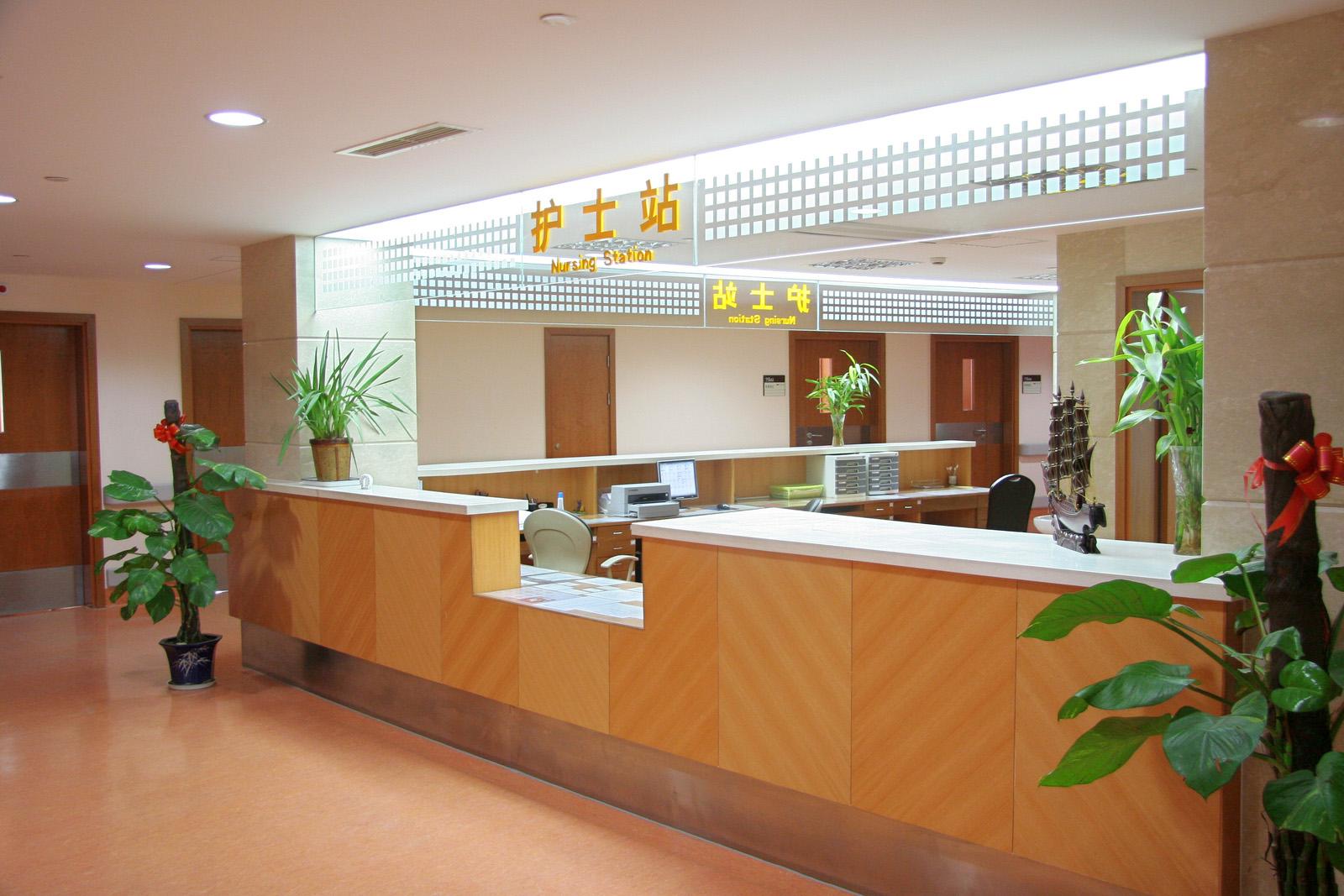 上海九院护士站环境