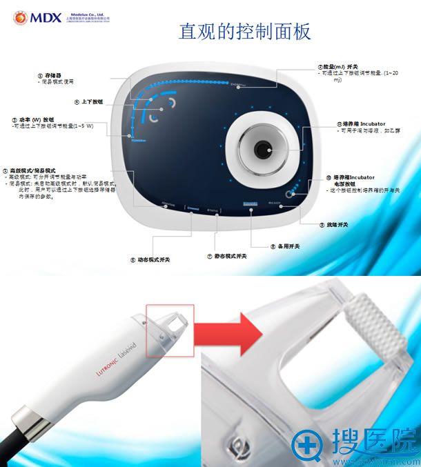 韩国朴宰佑整形外科路创丽Lutronic激光祛痘仪器