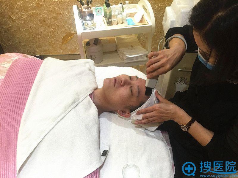 高周波提升第2步:皮肤清洁管理