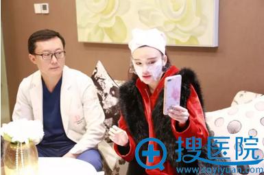 麻醉中,孔玲义院长为网友解答各种皮肤问题